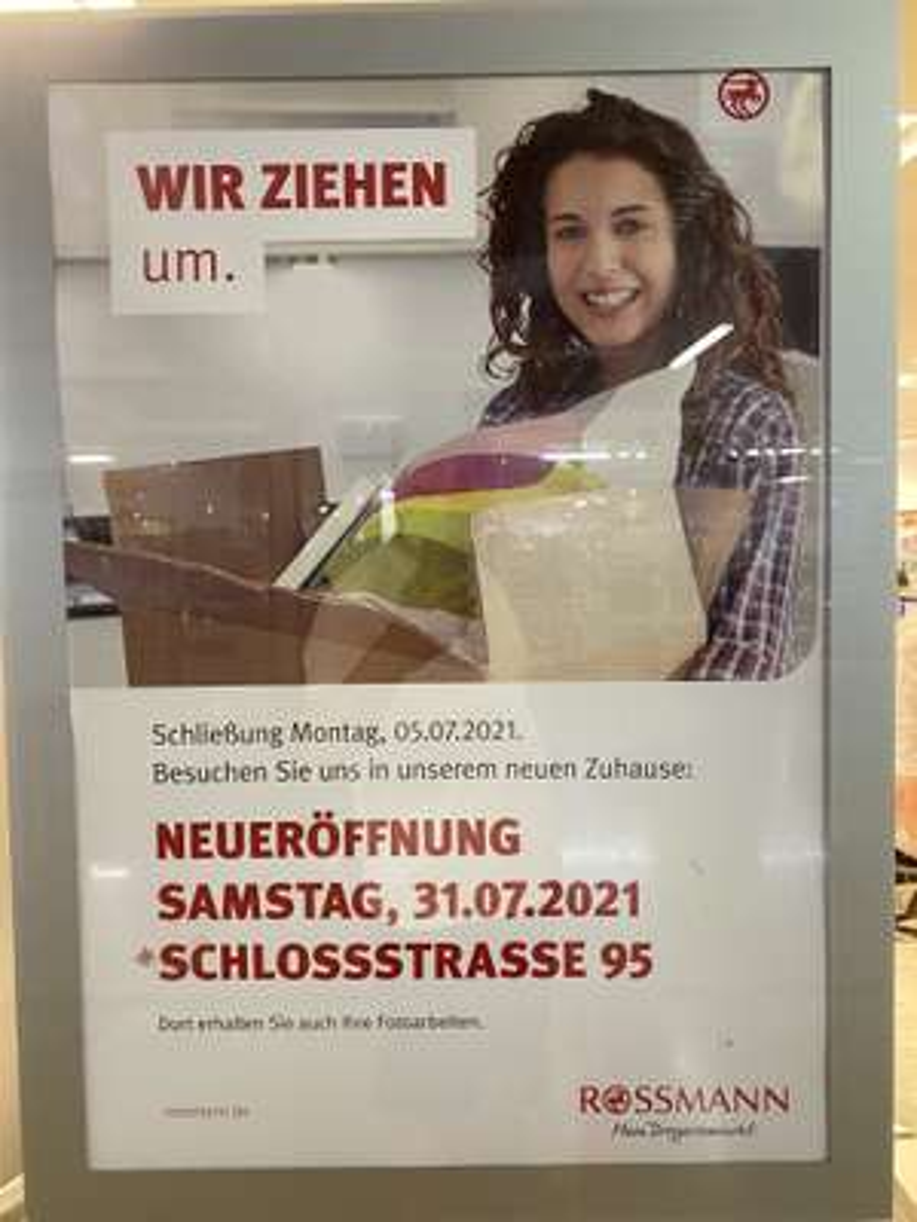 Rossmann | Ausverkauf -25%* | Lokal Steglitz Forum Berlin