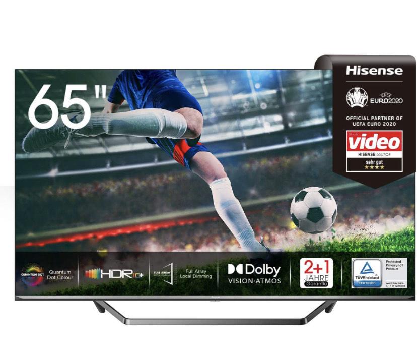 Hisense 65U7QF ULED TV (163cm (65 Zoll) Fernseher