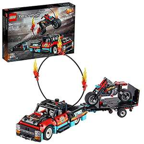 [Amazon Prime] LEGO 42106 Technic Stunt-Show mit Truck und Motorrad (2-in-1 Modell)