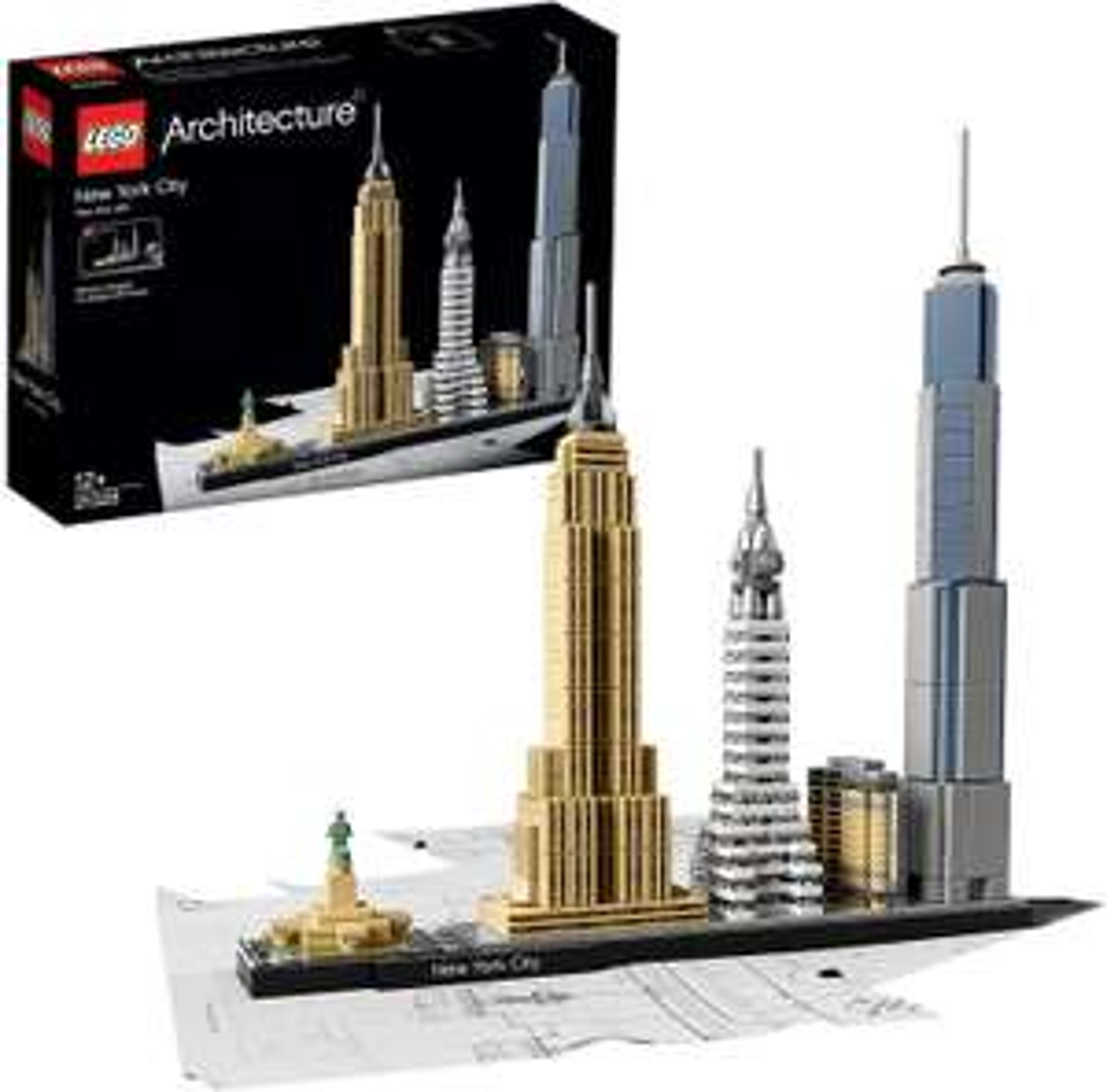 Lego Architecture Sammeldeal - New York City (21028) - Paris (21044) - Tokio (21051) [Primeday]
