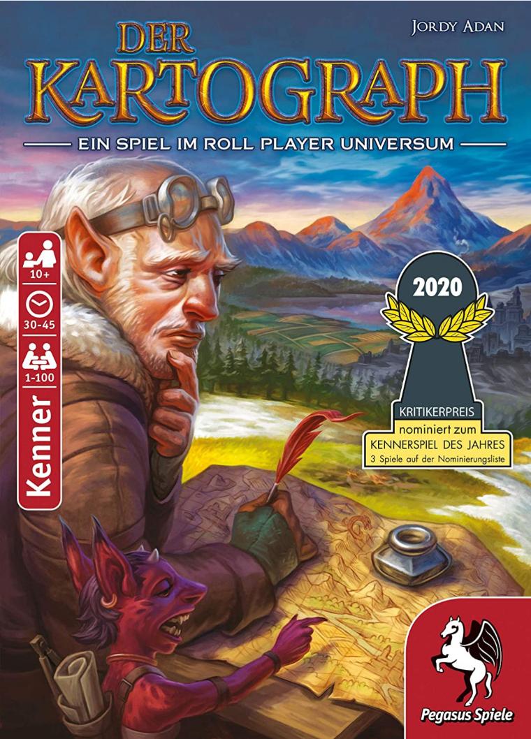 [Prime Day] Brettspiel Der Kartograph - nominiert zum Kennerspiel des Jahres 2020