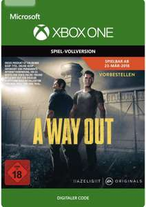 [Amazon] A Way Out - Xbox Digitaler Download Code