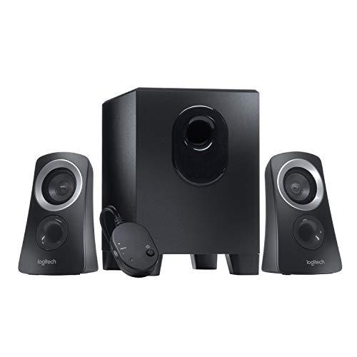 [Prime oder Saturn] Logitech Z313 2.1 Lautsprecher-System mit Subwoofer, 50 Watt Spitzenleistung, 3.5 mm Eingang, Kopfhörerbuchse