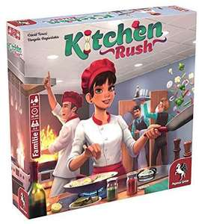 Pegasus Spiele Kitchen Rush Familienspiel/Brettspiel | 2-4 Spieler | 20-60 min | ab 8 Jahren ; Renature für 24,99€ [Prime Day]
