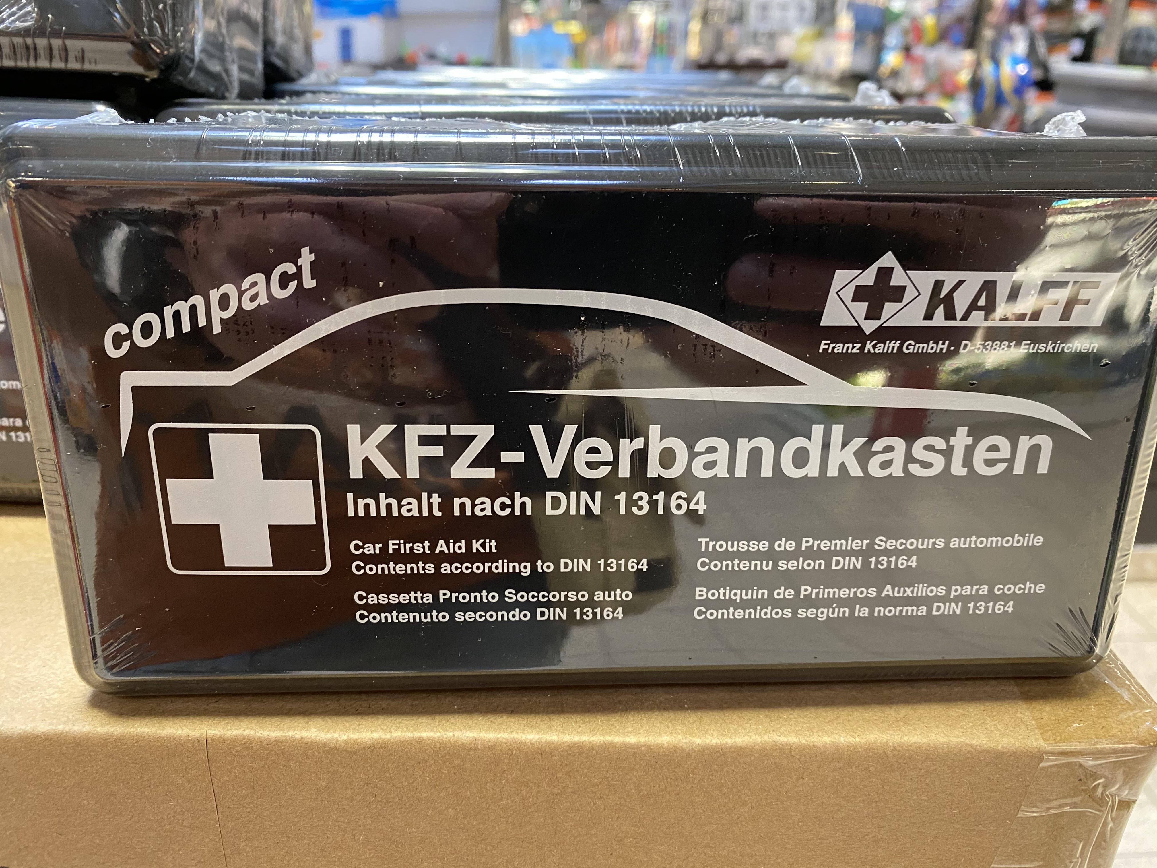Kalff KFZ Verbandkasten nach DIN 13164 *Marktkauf*