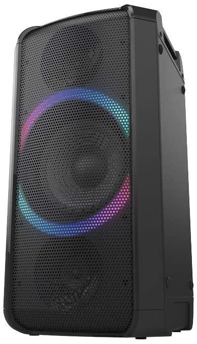 [Saturn schlägt Amazon] Panasonic SC-TMAX5 Party Lautsprecher mit Bluetooth (Wireless Charging, Lichteffekte, Powerbankbetrieb, 150W)