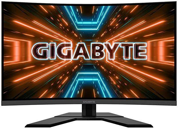 Gigabyte G32QC 31.5 Zoll Gaming Monitor 165hz 1ms WQHD VA Panel (HDR400) Freesync Premium [Computeruniverse]