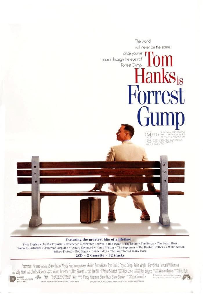 Forrest Gump als Kauffilm in 4K - Dolby Vision - Dolby Atmos für 3,99€ (iTunes) IMDb: 8,8