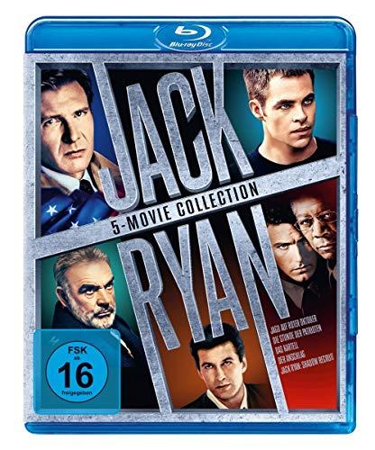 (Prime) Jack Ryan 5-Movie Collection (5 Blu-ray Disks) Jagd auf Roter Oktober, Stunde der Patrioten,Das Kartell,Der Anschlag,Shadow Recruit