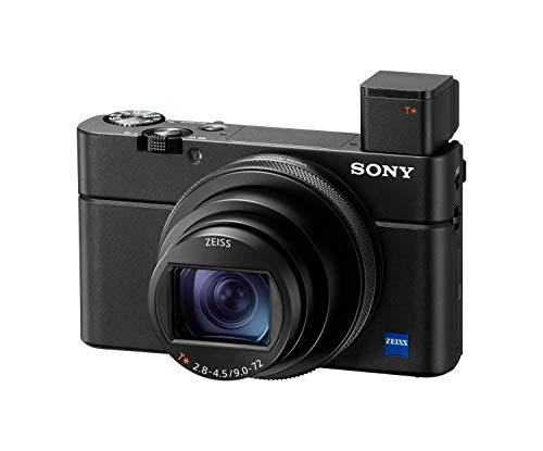 [Amazon Prime] Sony RX100 VI Kompaktkamera 1,0-Typ-Sensor, 24-200 mm F2.8-4.5-Zeiss-Objektiv