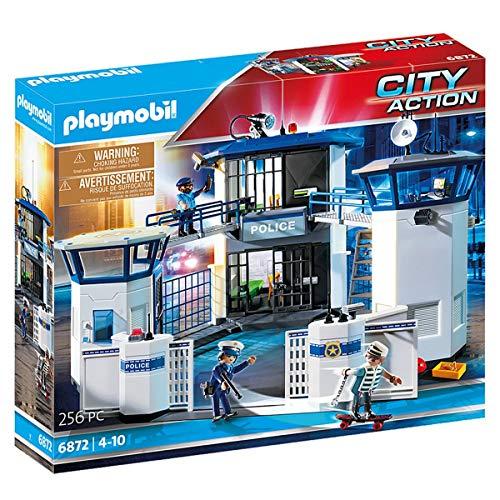 Prime Day: Playmobil City Action 6872 Polizeistation mit Gefängnis, Ab 5 Jahren