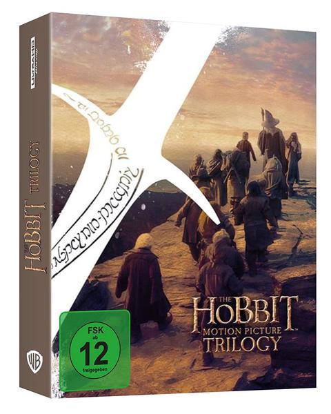 Der Hobbit: Die Spielfilm Trilogie - Extended Edition (4K Blu-ray) für 45,23€ (Bol.de)