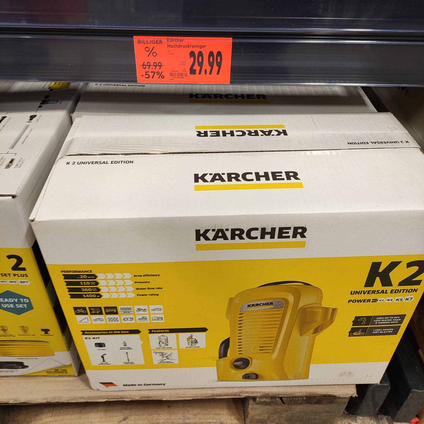 Kärcher K2 Universal Edition @kaufland Herford