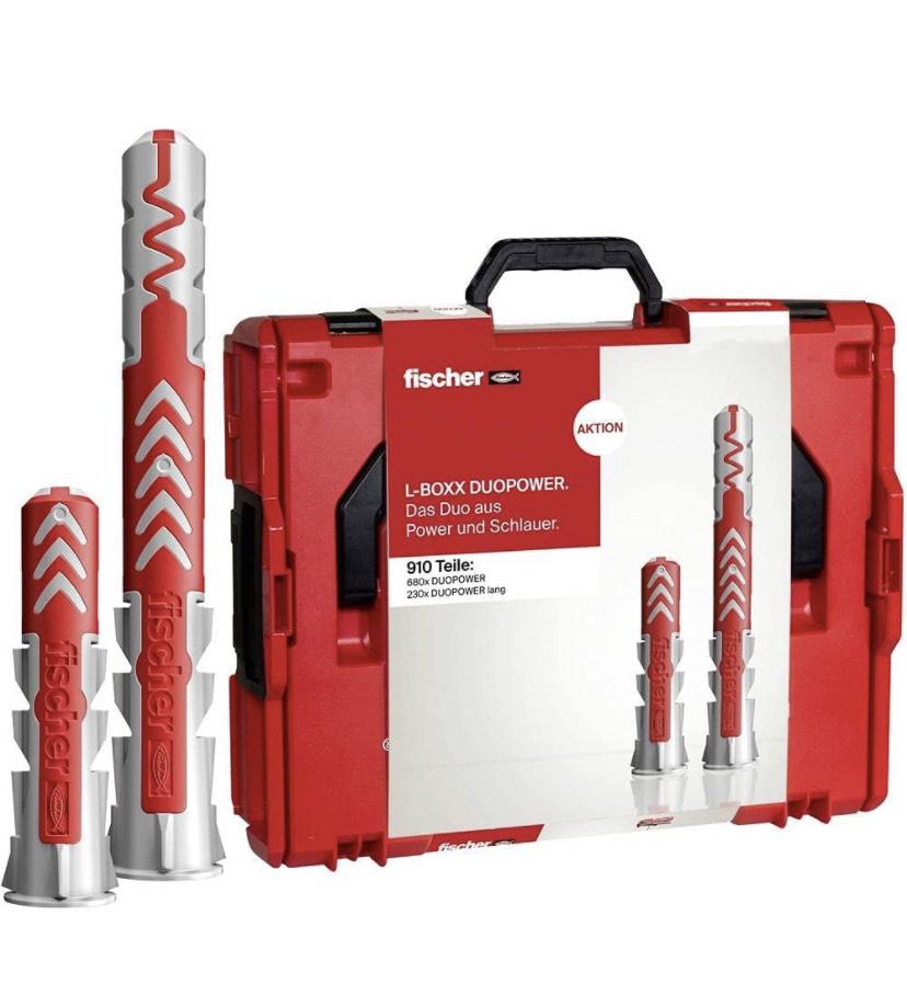 fischer L-BOXX 102 DUOPOWER im Koffer