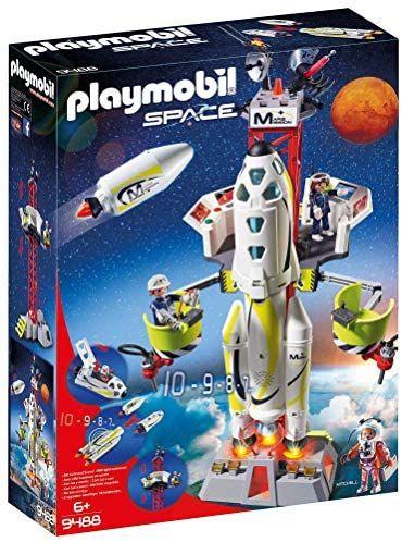 Playmobil SPACE 9488 Mars-Rakete mit Startrampe, Ab 6 Jahren [Exklusiv bei Amazon]