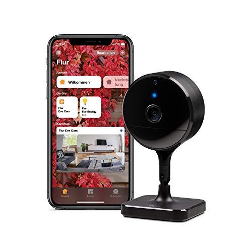 (Amazon Prime) Eve Cam - Smarte Innenkamera, 1080p-Auflösung mit HomeKit Secure Video