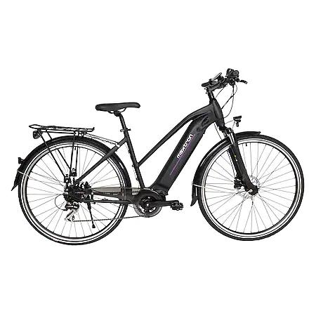 Maxtron E-Trekking-Bike MT-14X Damen (Rahmenhöhe 50 cm, Antriebsspannung 36 V, Ladezeit 4-5 Stunden, max. Ladezyklen 600)