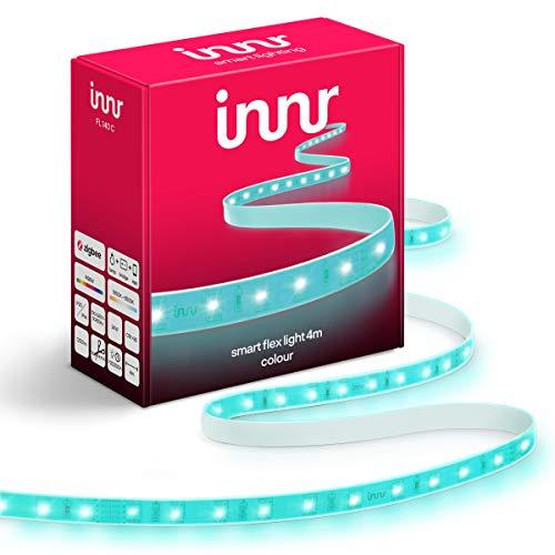 Innr Flex Light Color, 4m Smart LED Streifen, dimmbar, RGBW, Hue kompatibel [prime]