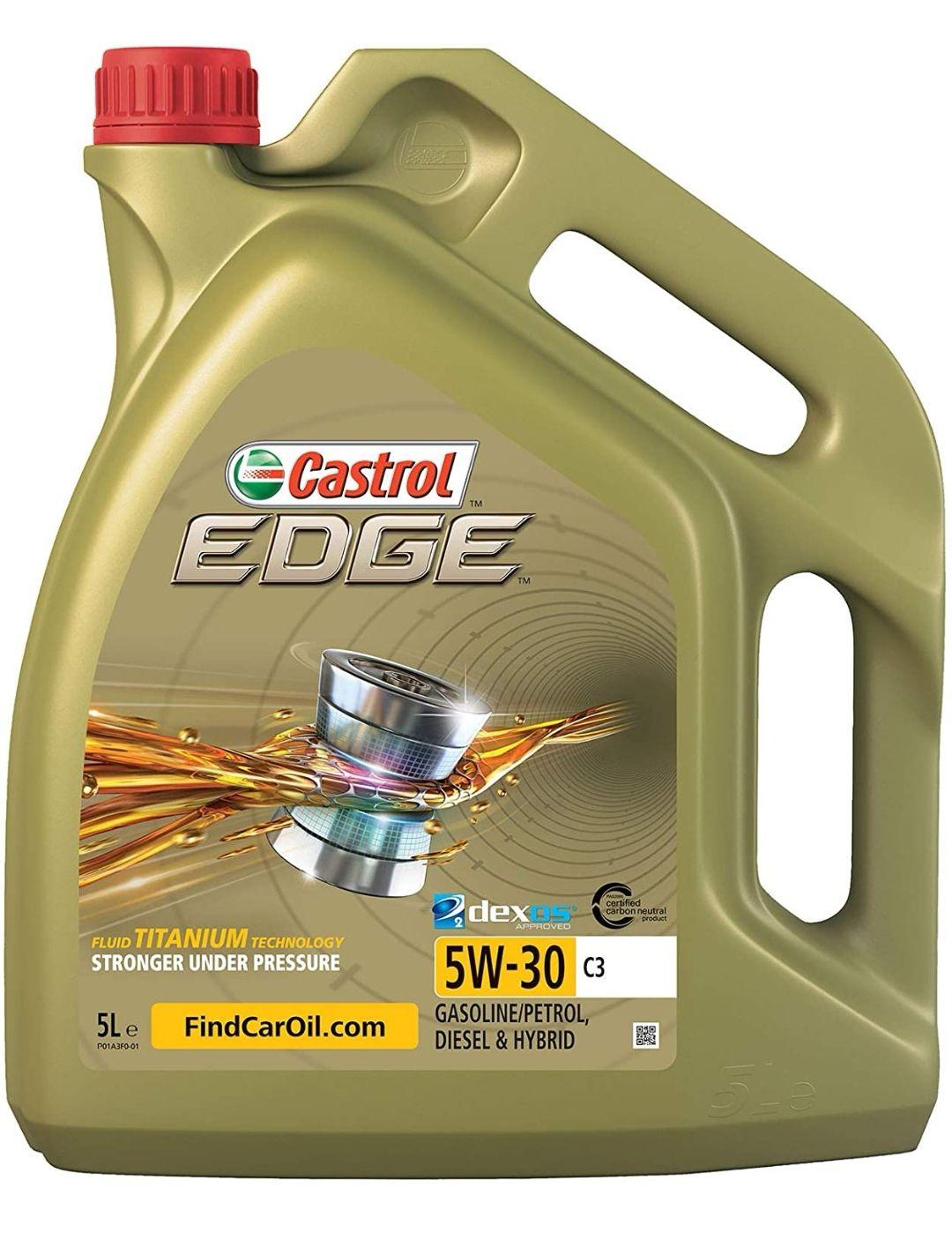 [Blitzangebot, Amazon Prime] 5L Castrol Edge Titanium FST 5W30 C3 Motoröl