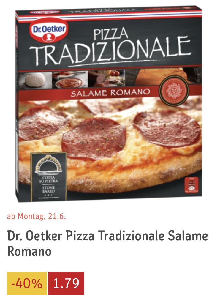 Dr. Oetker Tradizionale für 1,79€