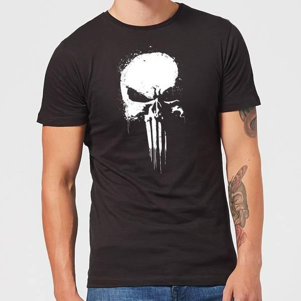 [Zavvi] Marvel The Punisher Paintspray Herren T-Shirt (Größen S bis XXL)