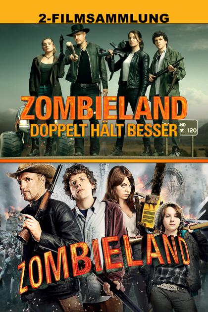 (iTunes) Zombieland Double-Feature in 4k HDR / Dolby Vision * KAUF-STREAM * auch einzeln Teil 1 für 3,99€ & Doppelt hält besser für 4,99€