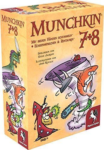 Kartenspiel Munchkin 3+4, 5+6, 7+8, 40.000 oder Age of Sigmar (Amazon Prime Day)