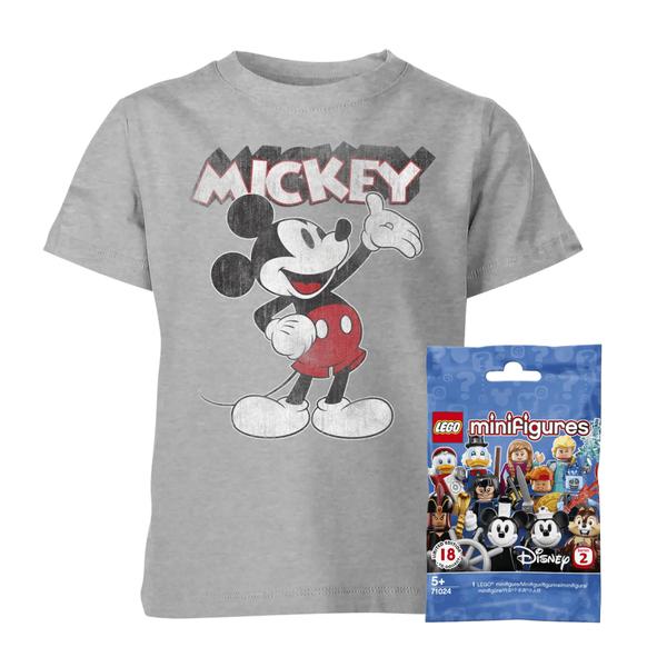 Lego Disney Minifigur + Disney oder Batman T-Shirt für Kinder inkl. Versand
