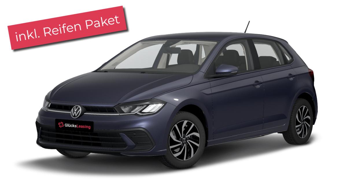 """Privatleasing: Volkswagen Polo """"Fresh"""" 1.0 59 KW (80 PS) Inkl. Winterräder Und Leasingratenversicherung Für Junge Fahrer"""