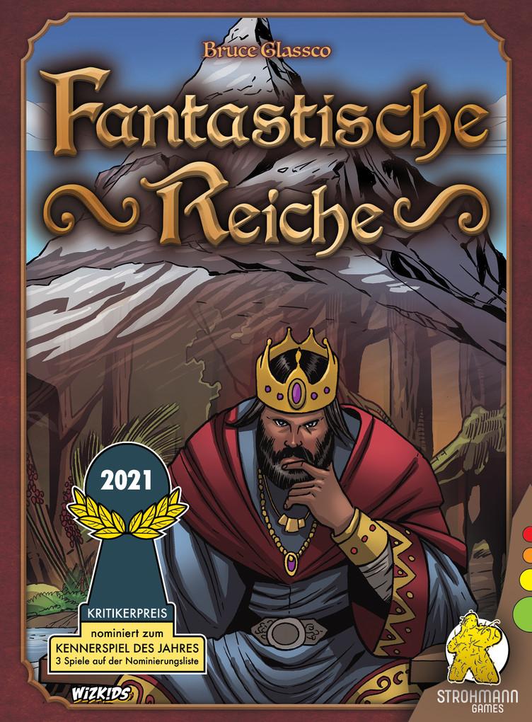 Fantastische Reiche - Kartenspiel, nominiert zum Kennerspiel 2021 bei Hugendubel