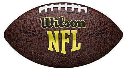 Wilson American Football NFL FORCE , Freizeitball, strapazierfähiges Komposit-Leder, offizielle Größe [Amazon Prime]