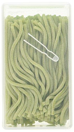 Katjes rote oder grüne Sticks – saure Schnüre aus Fruchtgummi inklusive Entnahme-Zange, 1-er Pack (1 x 1,4 kg) (vegetarisch)