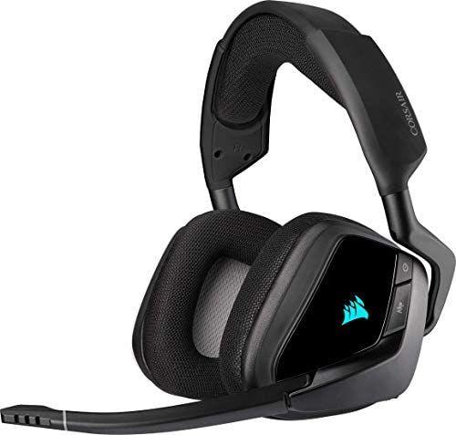 Corsair Void Elite RGB Wireless Gaming Headset (7.1 Surround Sound, Ultraniedrige Latenz, 12 Meter Reichweite [Amazon]