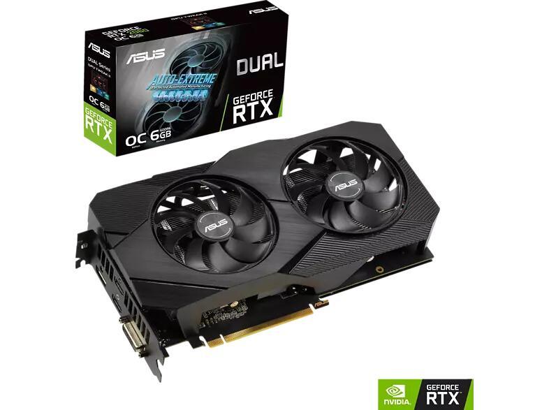"""ASUS GeForce RTX™ 2060 Dual Evo OC 6GB [""""NUR"""" 150 Euro teurer als TIEFSTPREIS]"""