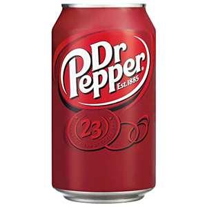 Dr. Pepper original o. mit Kirschgeschmack je 0,33L Dose für 0,59€ [Kaufland]