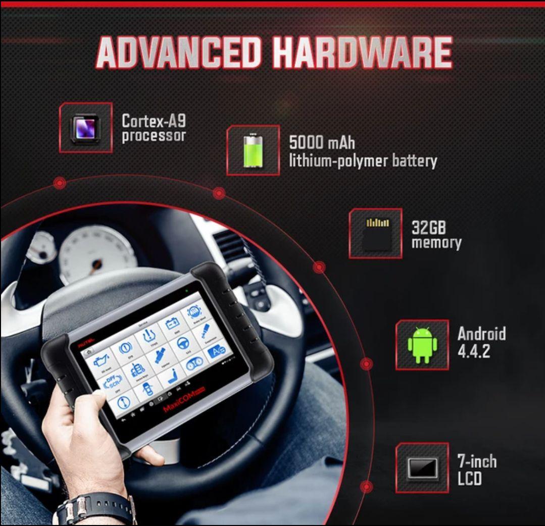 [AliExpress] Autel MaxiCOM MK808 OBD2 Fahrzeug-Diagnose-Scanner