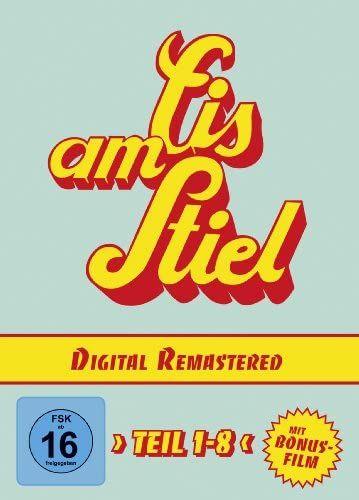 [Amazon Bestpreis] EIS AM STIEL Komplettbox inkl. Bonusfilm, Teil 1-8 (9 DVDs)