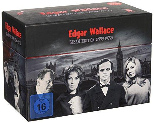 Edgar Wallace Gesamtedition 33 DVDs