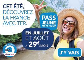 Frankreich Pass Jeune TER: Ein Monat mit der Bahn durch Frankreich (12-25 Jahre)