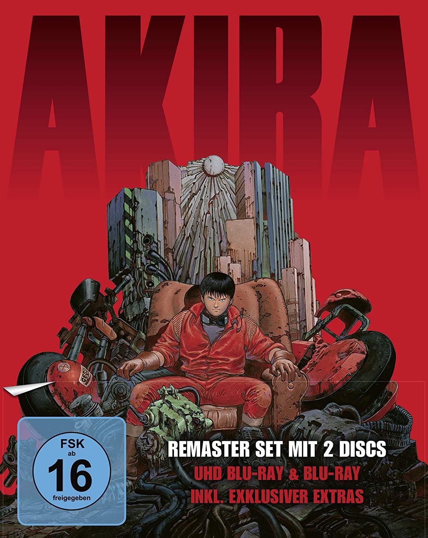 Akira - Limited Edition (4K Ultra HD + Blu-ray) für 21,97€ (Amazon Prime)