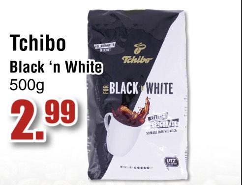 [Ter Huurne NL Lokal] Tchibo For Black 'n White Bohnenkaffee 500g / uvm. siehe Link