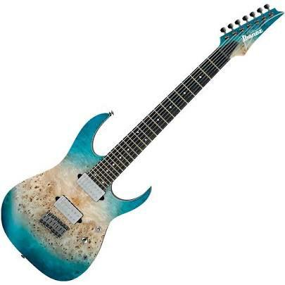 Ibanez RG1127PBFX CIF, 7-Saiter E-Gitarre, Ibanez RG Premium Series, Farbe Caribbean Islet Flat - Inklusive Gigbag [kirstein.de]