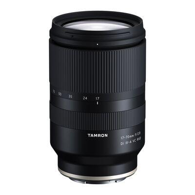 TAMRON 17-70mm 2.8 VC Di III-A RXD (Objektiv für Sony E-Mount APS-C, Schwarz)