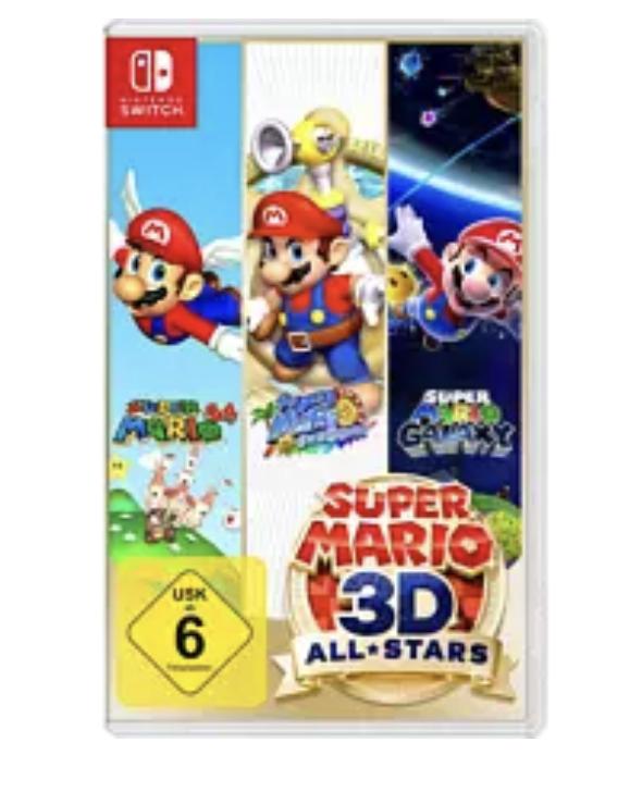 [Media Markt Abholung] Super Mario 3D All Stars Nintendo Switch