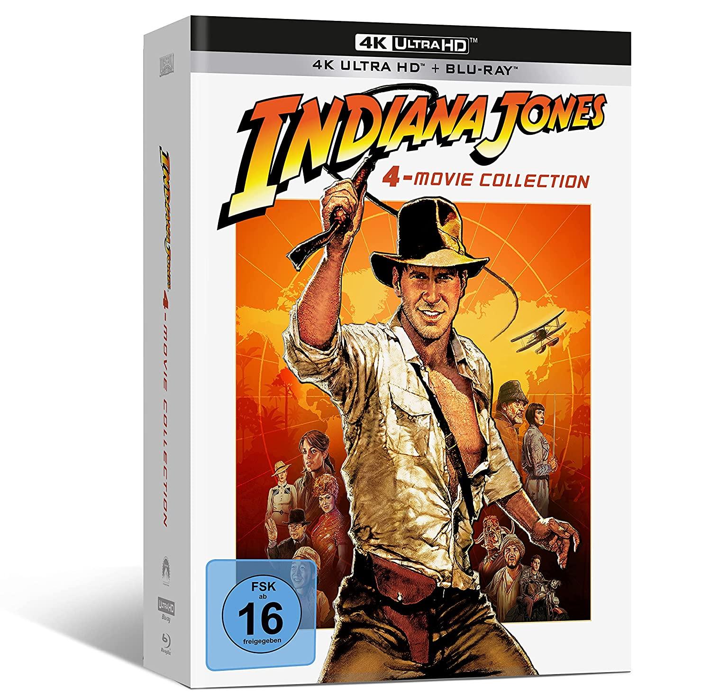Indiana Jones 4k uhd + blu ray für 62,99