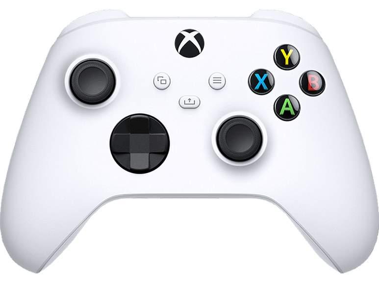 MICROSOFT Xbox Wireless Controller Robot White für 45,04€ bei Abholung [Media Markt]