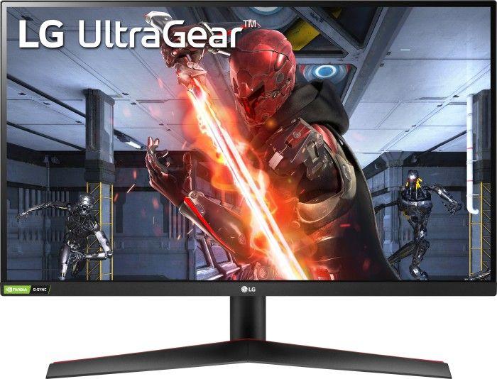 """LG UltraGear 27GN800-B, 27"""" (2560x1440, 350cd, IPS 144Hz, 10 Bit, 99% sRGB, FreeSync, VESA)"""