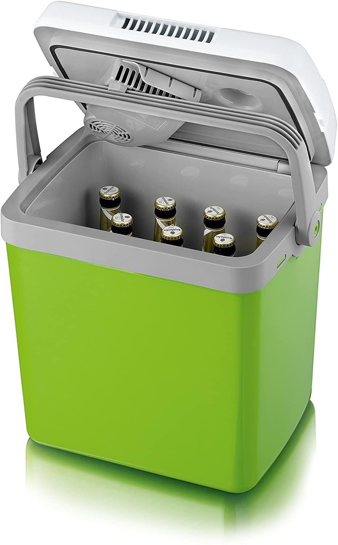 SEVERIN KB 2923 Elektrische Kühlbox ( Kühl-& Warmhaltefunktion, 28 L, inkl. Netzanschluss, USB-Anschluss).12V OHNE Funktion! - Vorführgerät