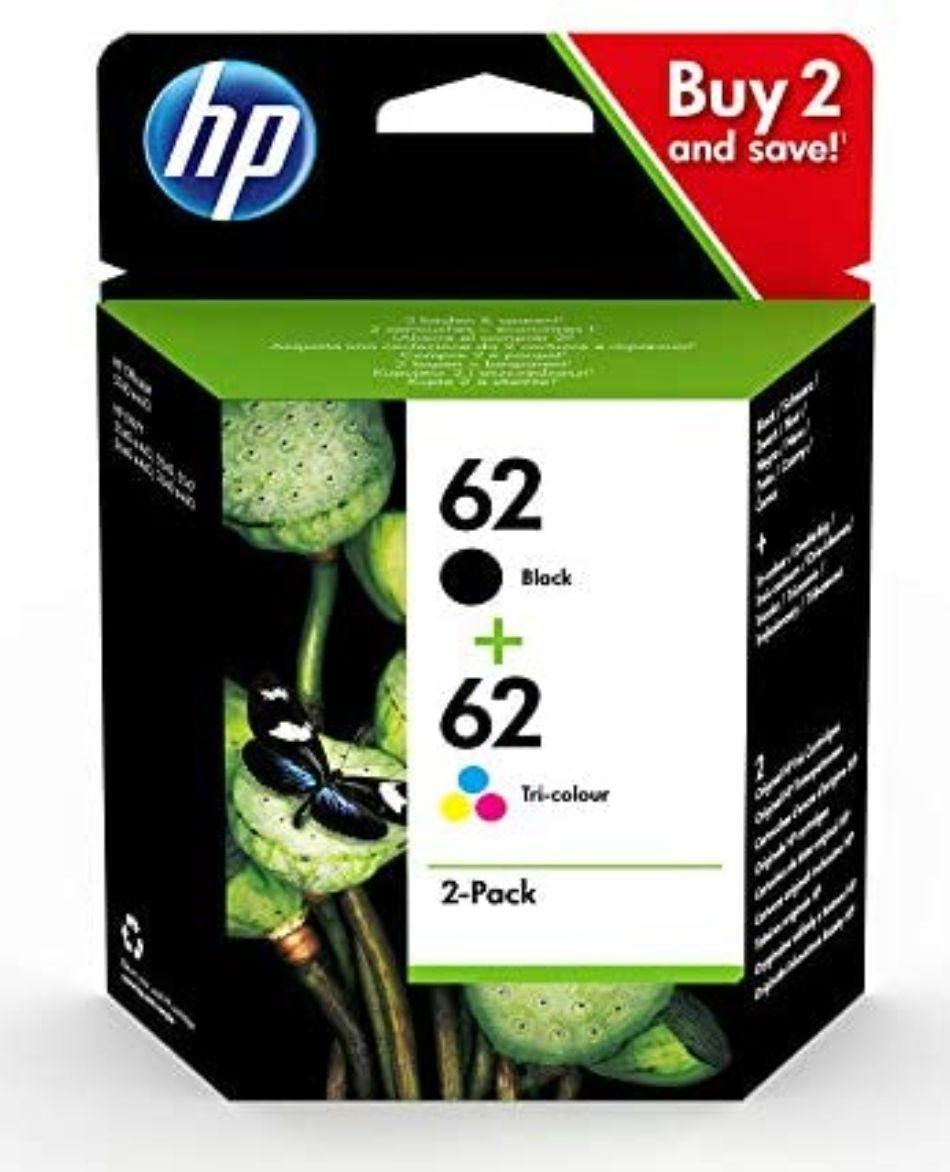 Amazon: HP Nr. 62 Multipack 4-farbig