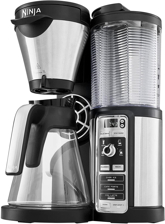 NINJA CF060EU Kaffeemaschine Schwarz/Silber bei MediaMarkt oder Saturn